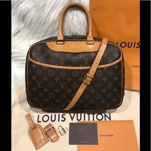 Authentic Louis Vuitton Deauville Tote #1.5M